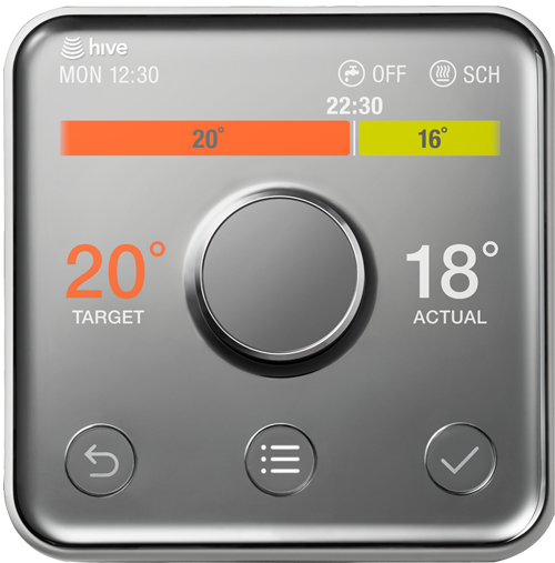 british gas hive active heating thermostat guide numbers. Black Bedroom Furniture Sets. Home Design Ideas