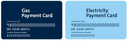 British Gas pay as you go card
