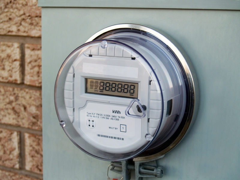 Digital gas meter