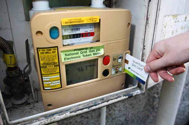 Prepayment gas meter