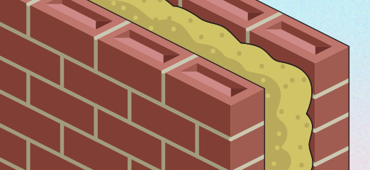 What is cavity wall insulation numbers make your home more energy efficient and to reduce your carbon footprint then you will have almost certainly come across something called cavity wall solutioingenieria Choice Image
