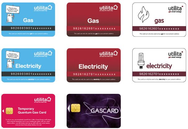 Top Up Your Gas Card Online Edf